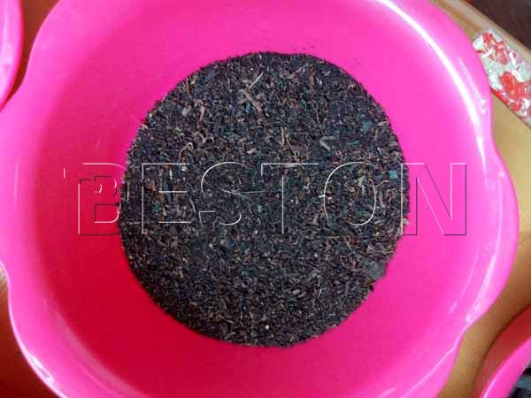charcoal from sawdust