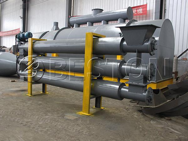 medical waste carbonization plant