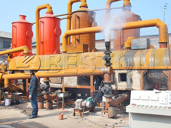 straw carbonization plant
