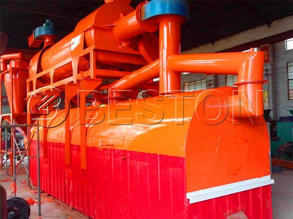 rice husk carbonization plant