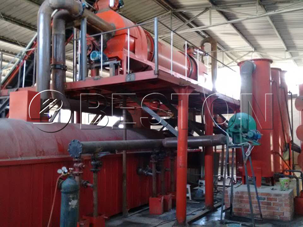 sludge carbonization plant