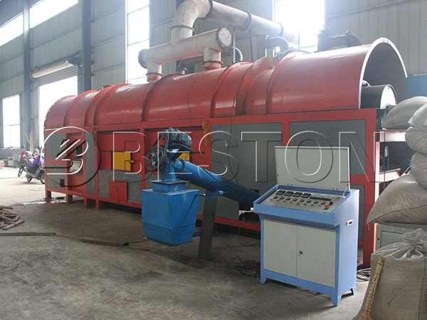 coconut shell carbonization plant