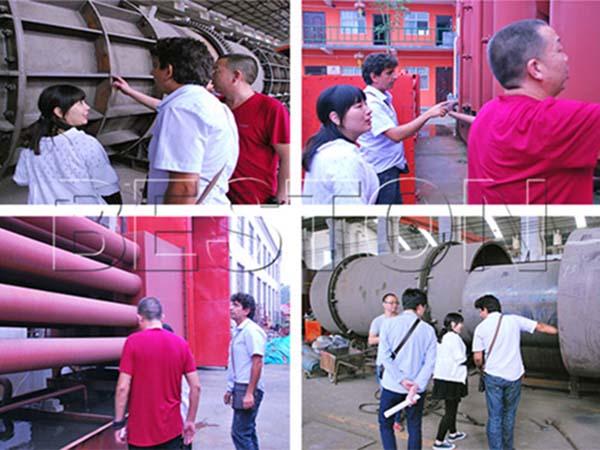 Biochar Production Equipment for Sale Tunisian Customers