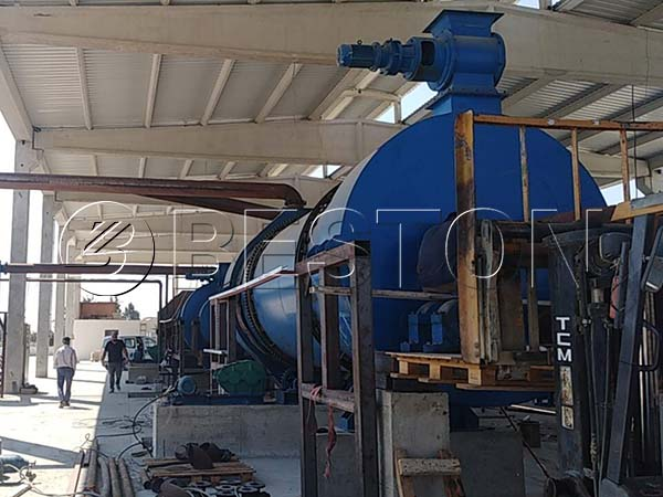 Carbonization Plant in Turkey