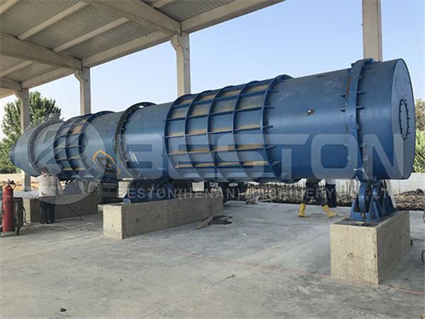 Biochar Production Plant in Turkey