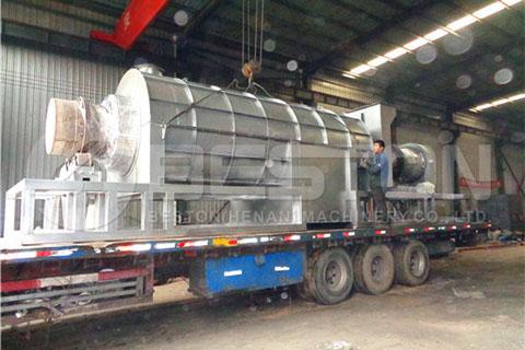 Charcoal Making Machine to Ghana