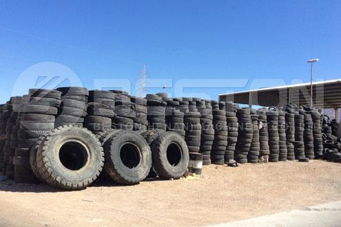 Pyrolyze Waste Tyre