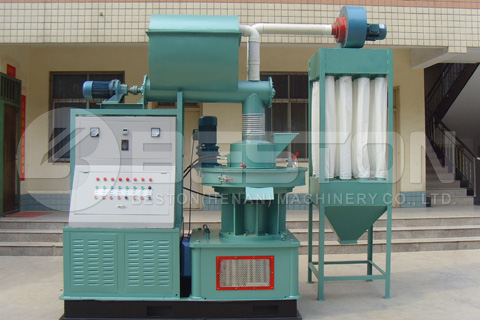 Wood Pelleting Machine